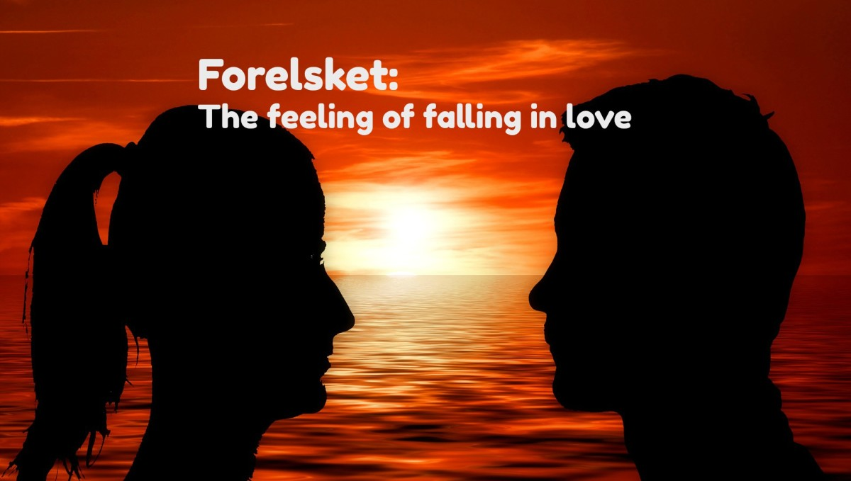 There is a word for the feeling that occurs before you fall in love.