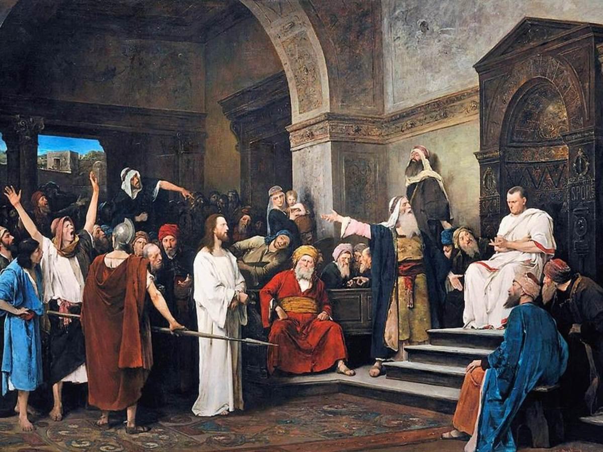 Jesus before Pilate - Mihály Munkácsy