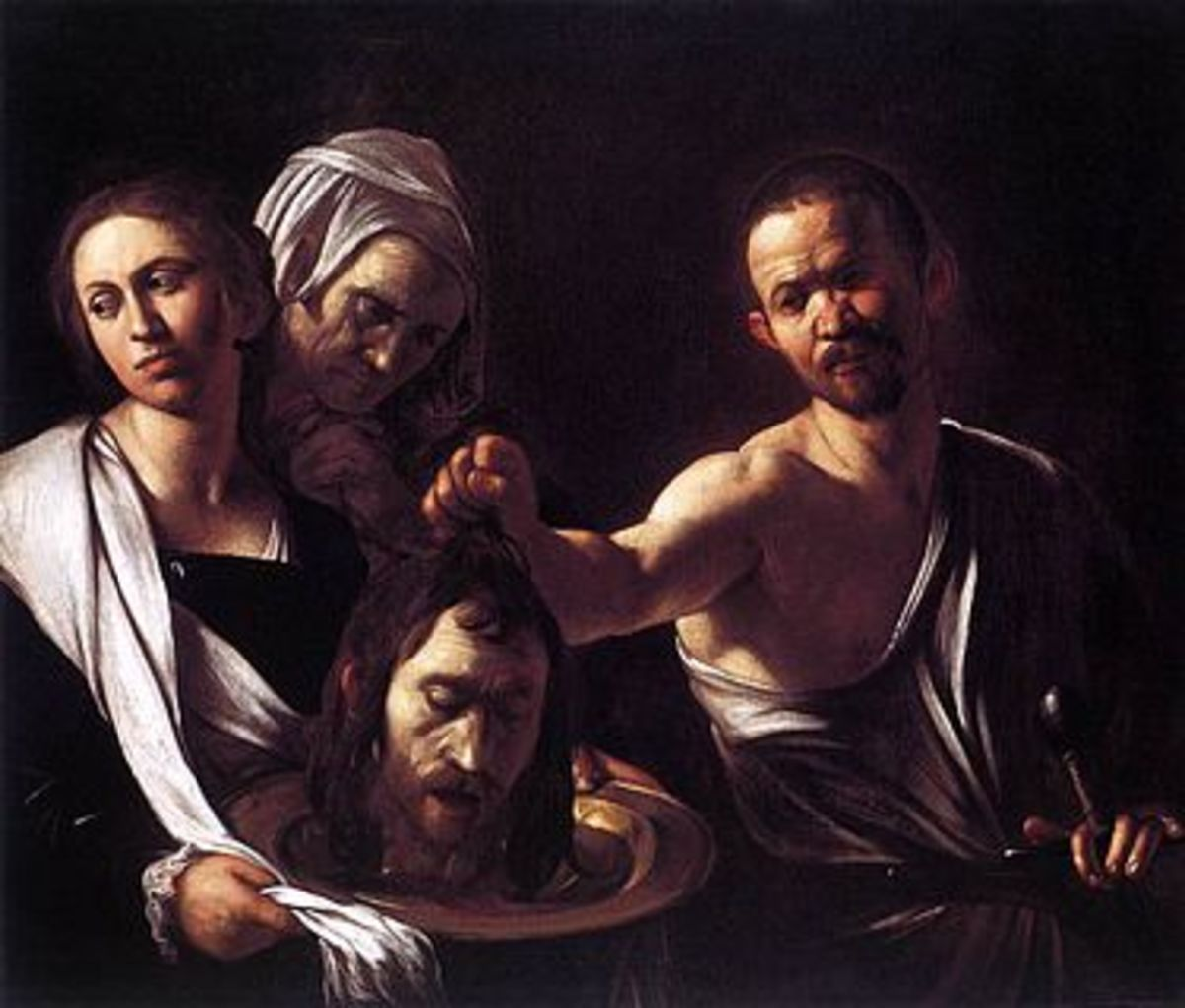 Salome with the Head of John the Baptists - Caravaggio