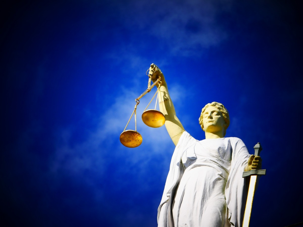 The scales of justice are impartial. What about the news?