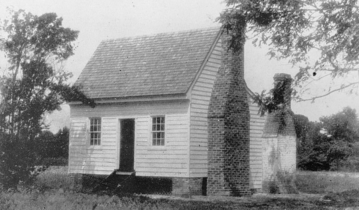 Walter Reed's Childhood home in Gloucester County Virgina