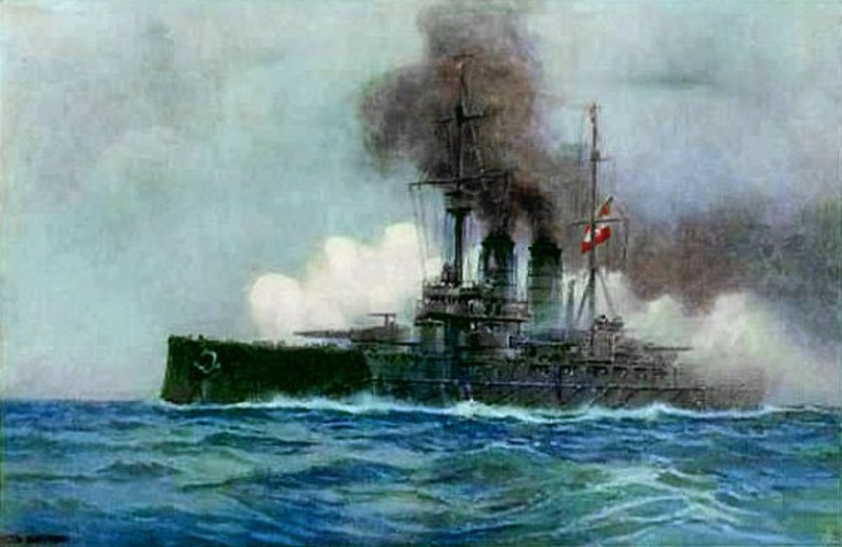 Although Austro-Hungarian battleships were, as the author claims, rather useless in the war itself... one must admit that they do have a splendid look about them.