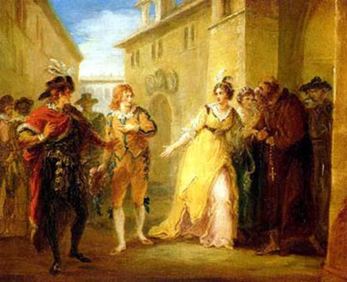 A Scene from Twelfth Night by William Hamilton, 1797