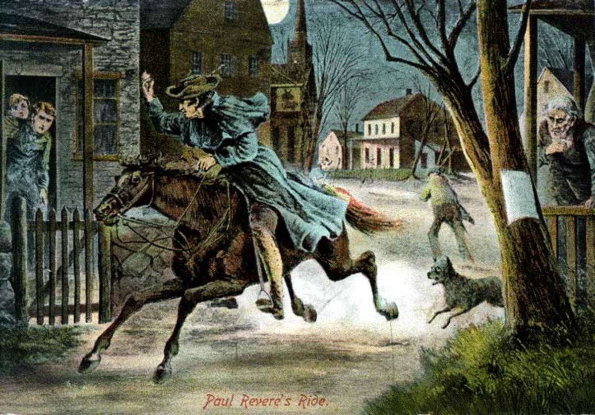 One of the reasons Paul Revere rode to Lexington on April 18, 1775 was to warn Hancock (and Sam Adams) the British were on the move towards Lexington to arrest the two rebels