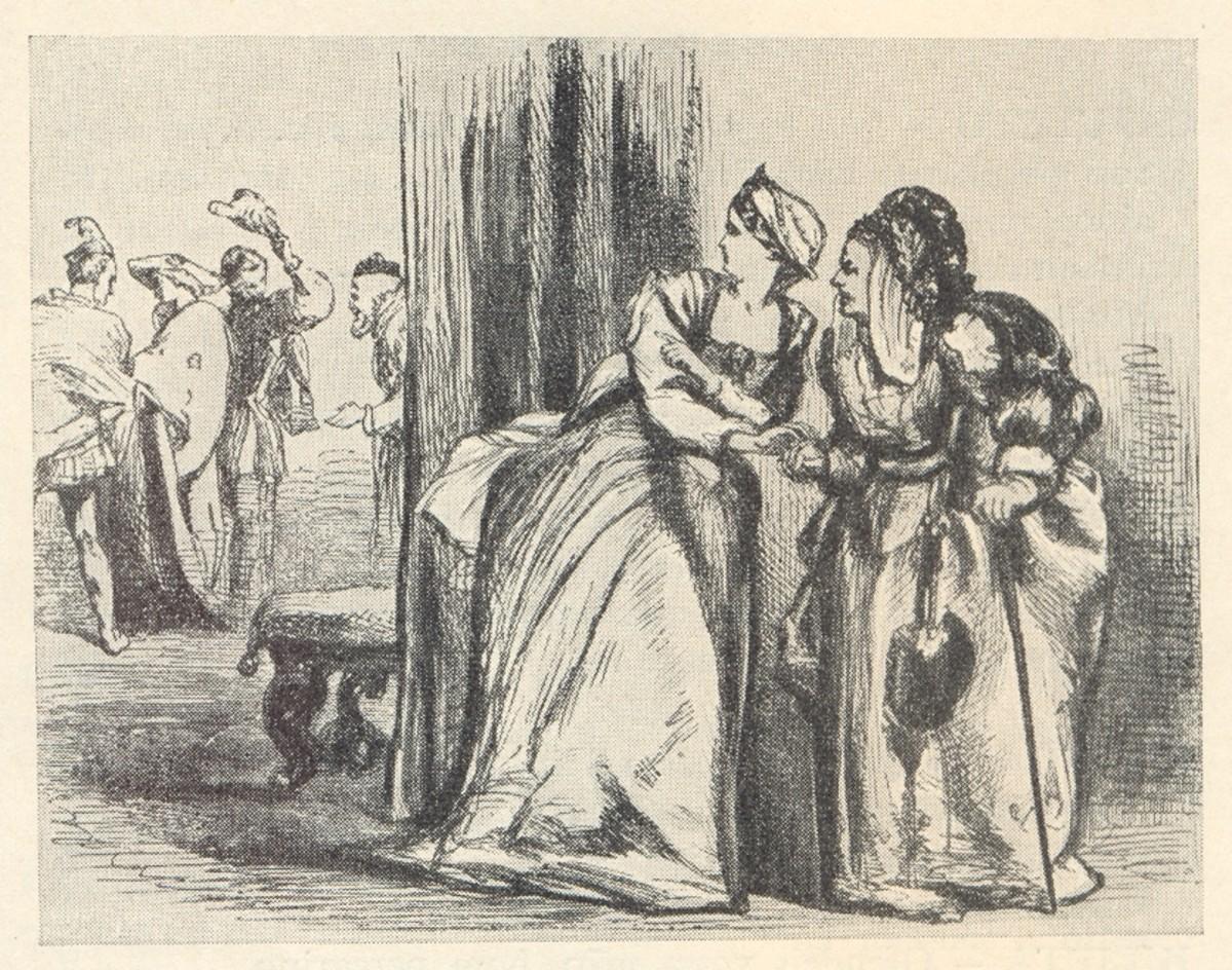 Juliet and her nurse