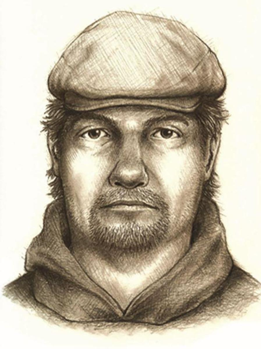 Composite sketch released of man walking on the Monon High bridge and suspect in the murder of Abby Williams and Libby German.