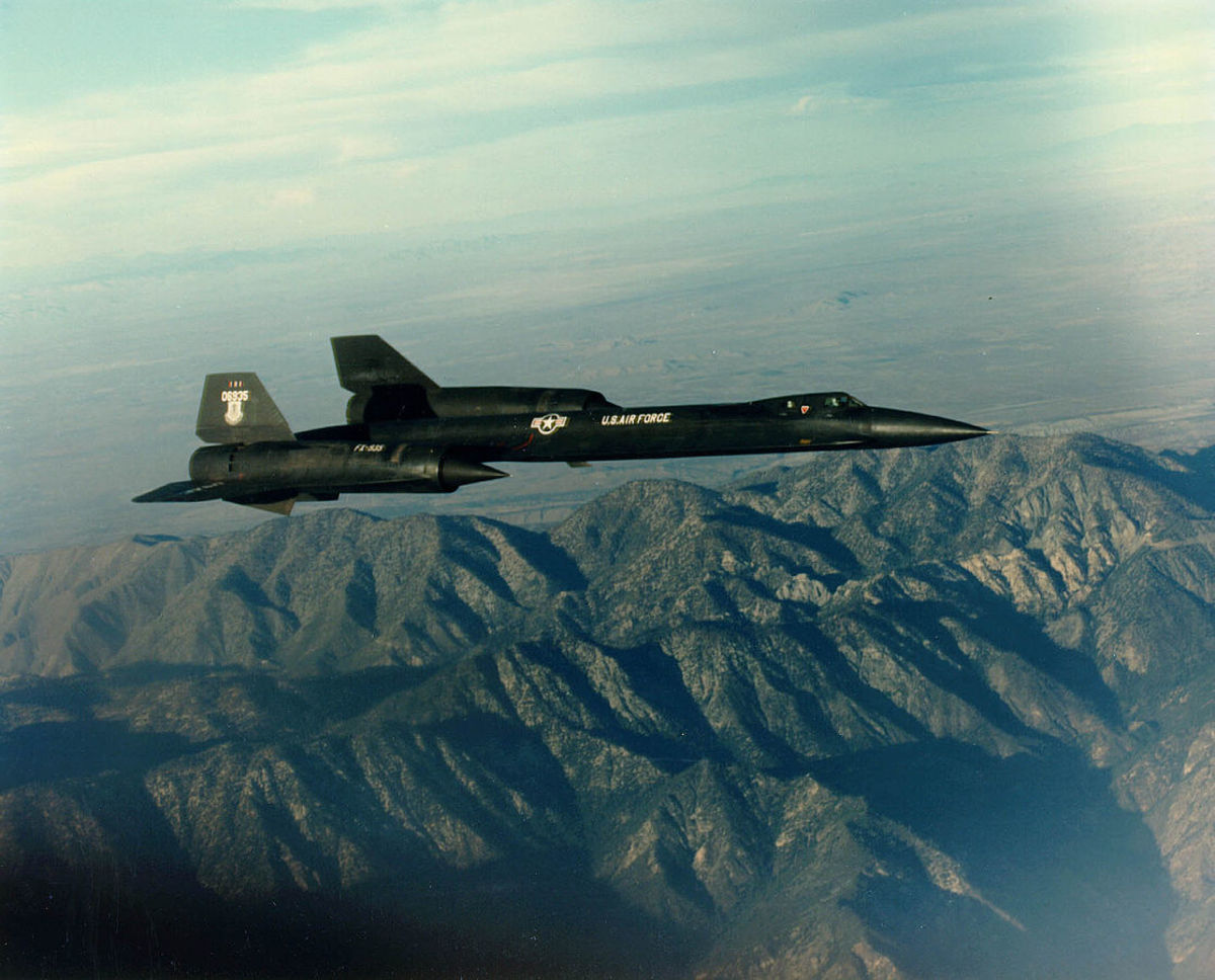 The YF-12, which bears a striking resemblance to the SR-71, was designed to intercept other aircraft at high speeds.