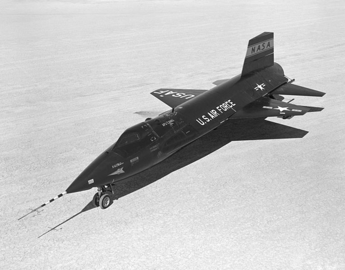 To date, the X-15 is the fastest manned aircraft.
