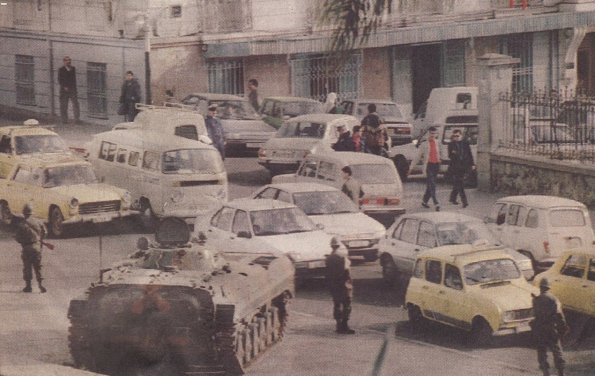 Fighting in the Algerian Civil War