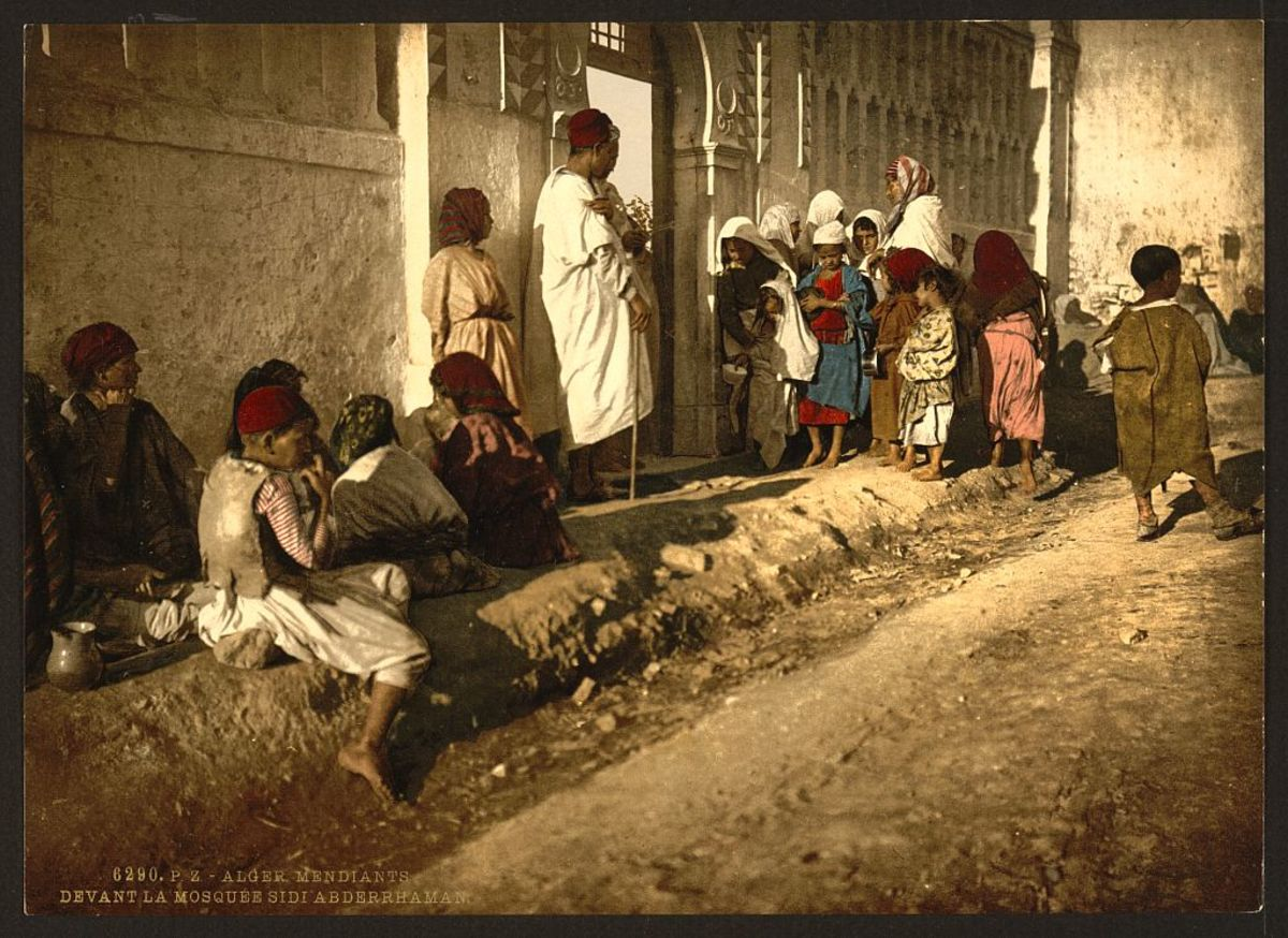 Algerian beggars