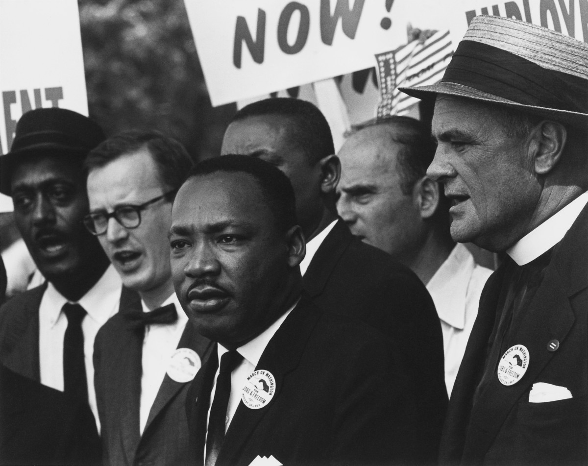 Dr. Martin Luther King, Jr at the 1963 March on Washington