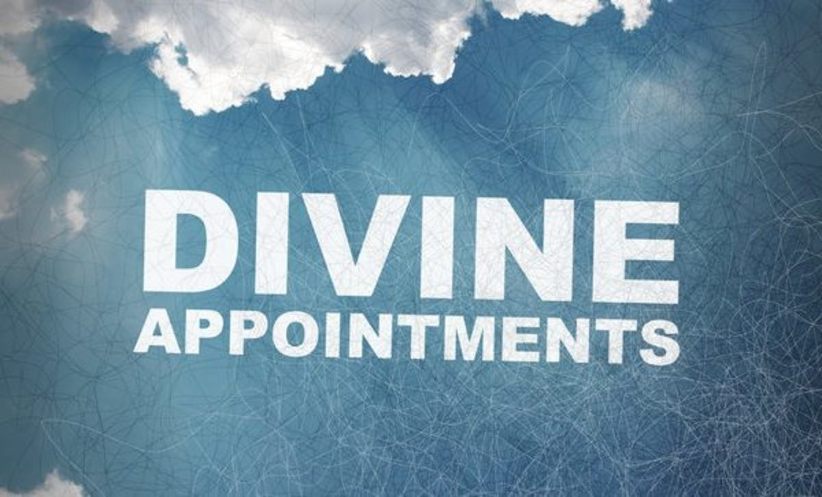 Do you know what your divine appointment is?