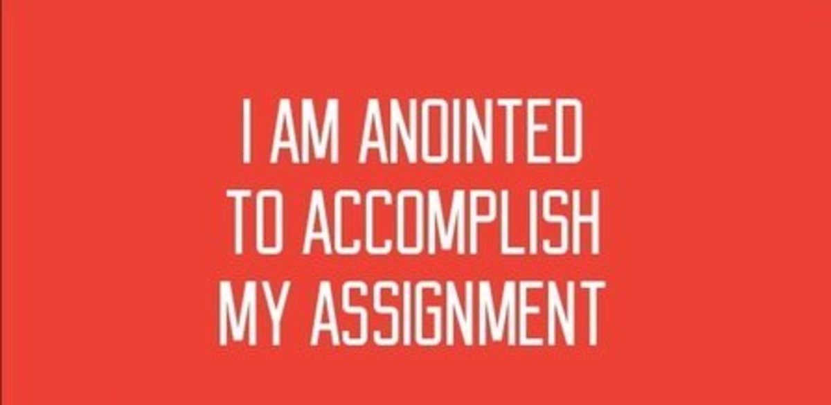 Let the above be your affirmation.