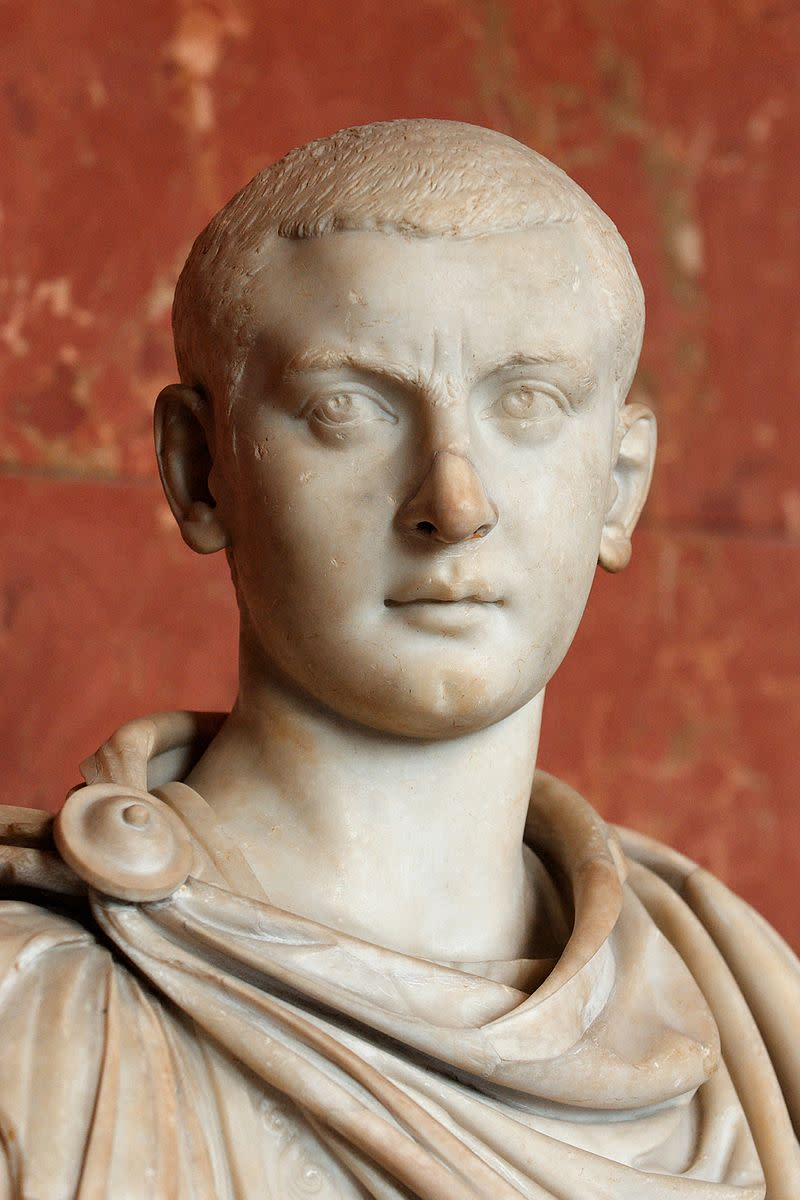 Gordian III, the youngest ever sole emperor of Rome.