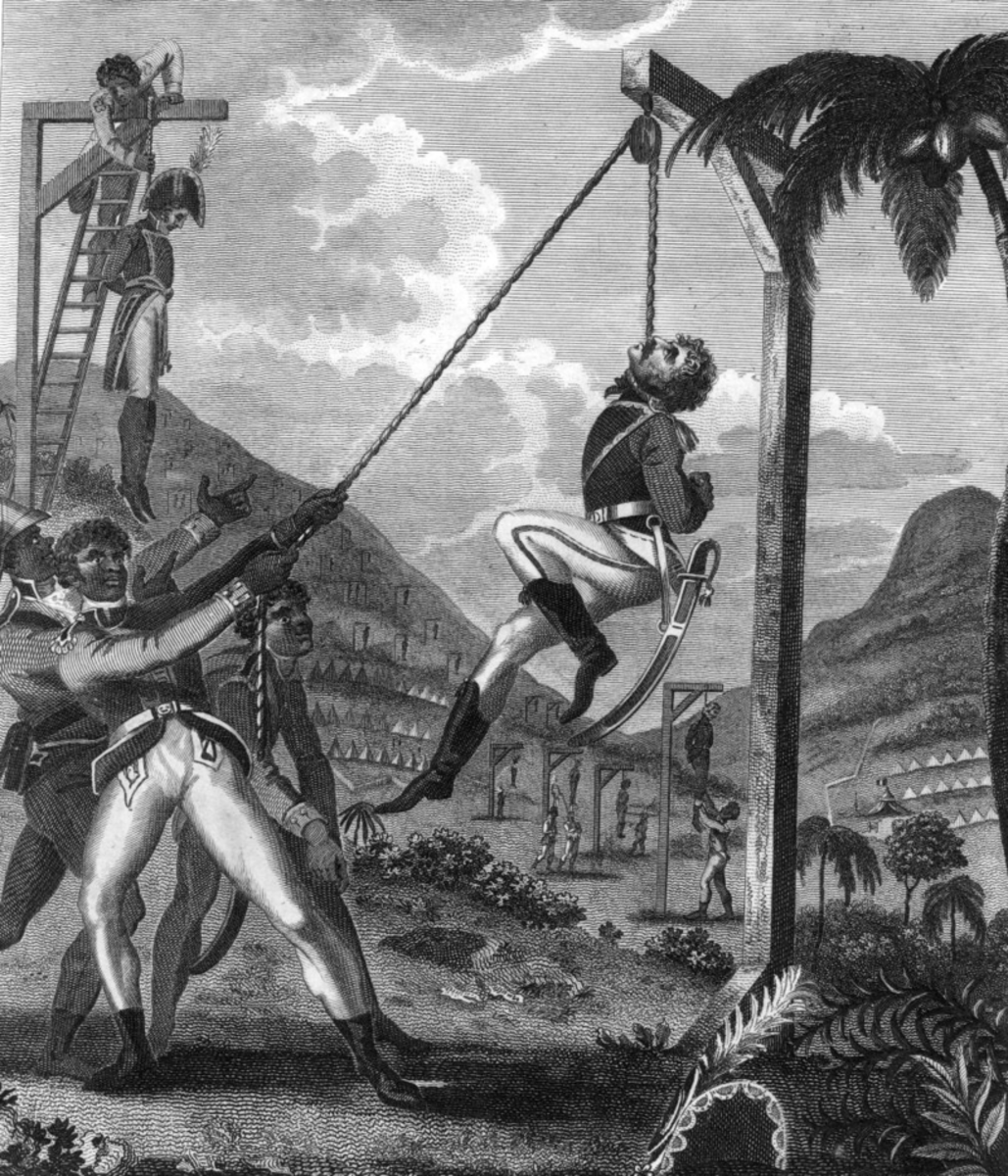Saint-Domingue was transformed into Haïti by revolution, a bloody and violent conflict which killed the planter class and the white population in general.