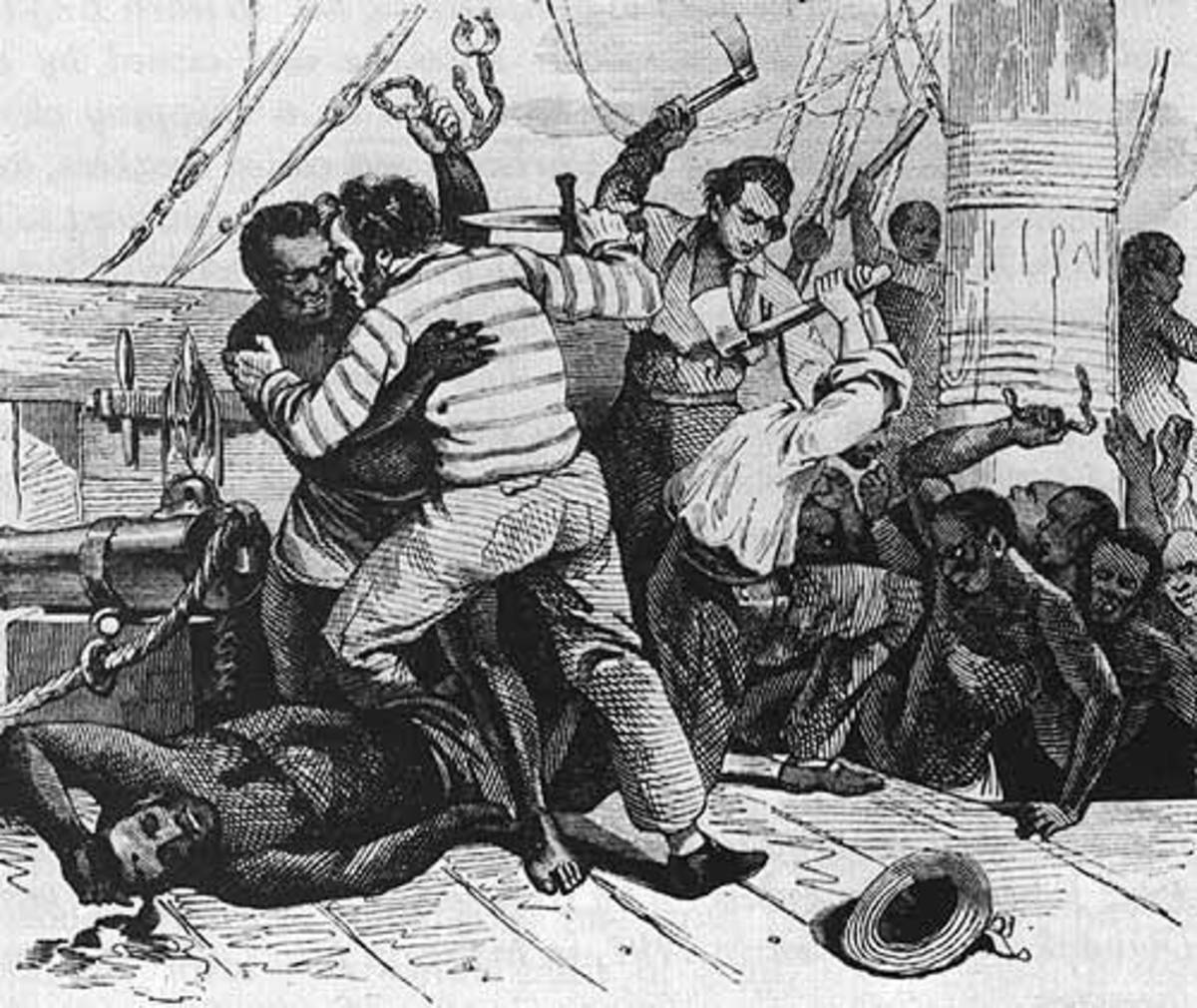Slaves were not passive objects but instead actively resisted, their mutiny being a deadly threat to the slavers.