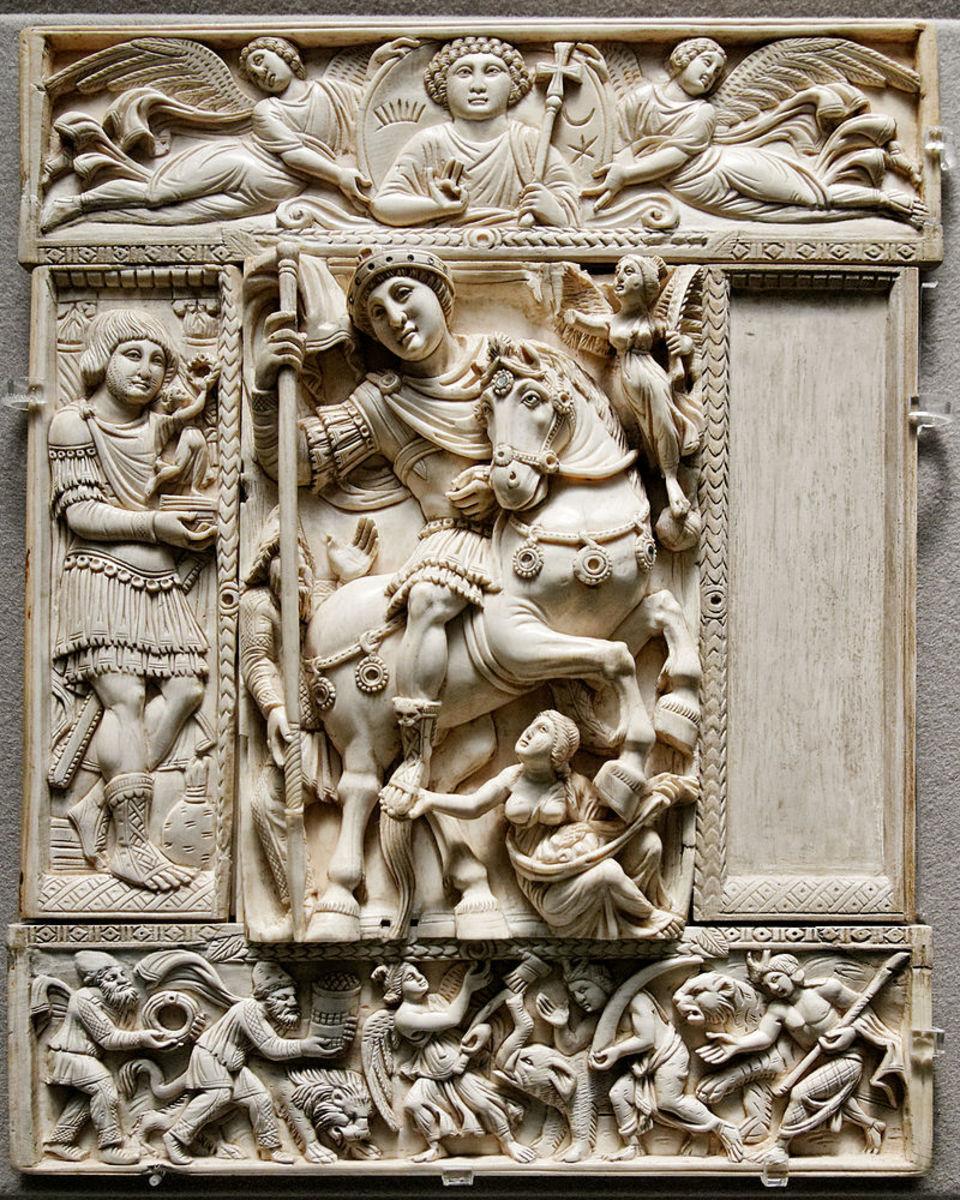 Figure 6: Barberini Ivory
