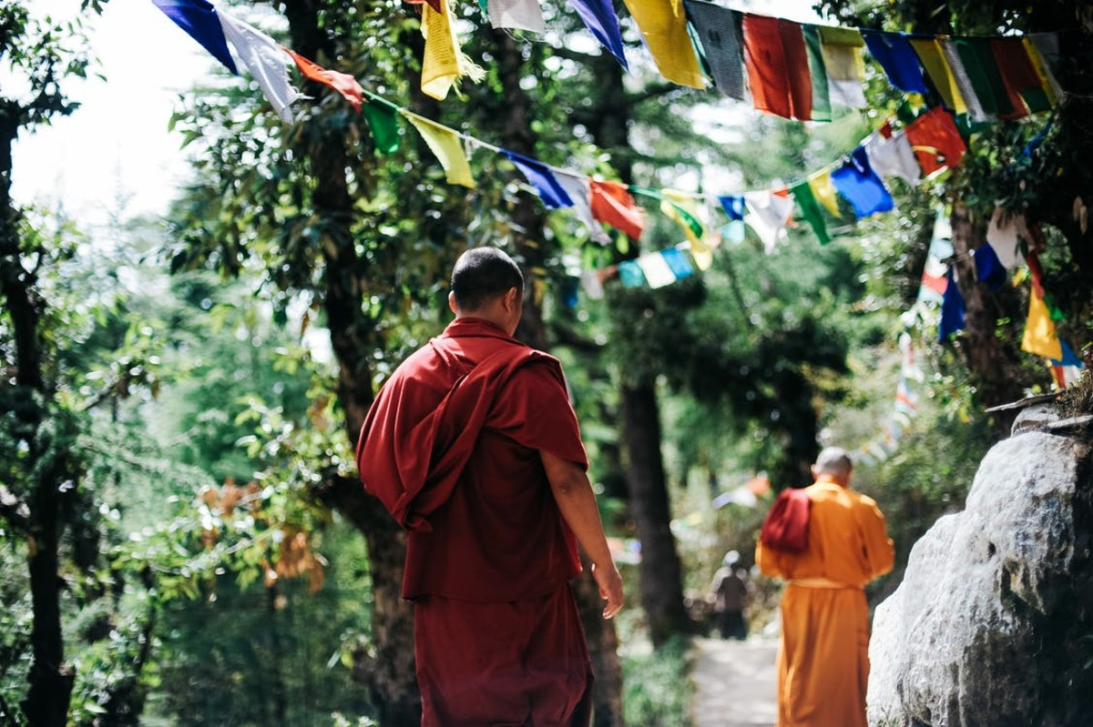 Sangha, or community, is also important in traditional Buddhism.