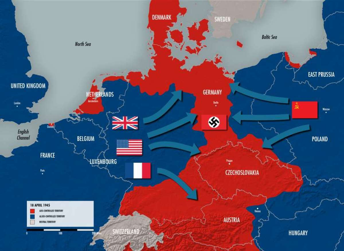 Germany in 1945