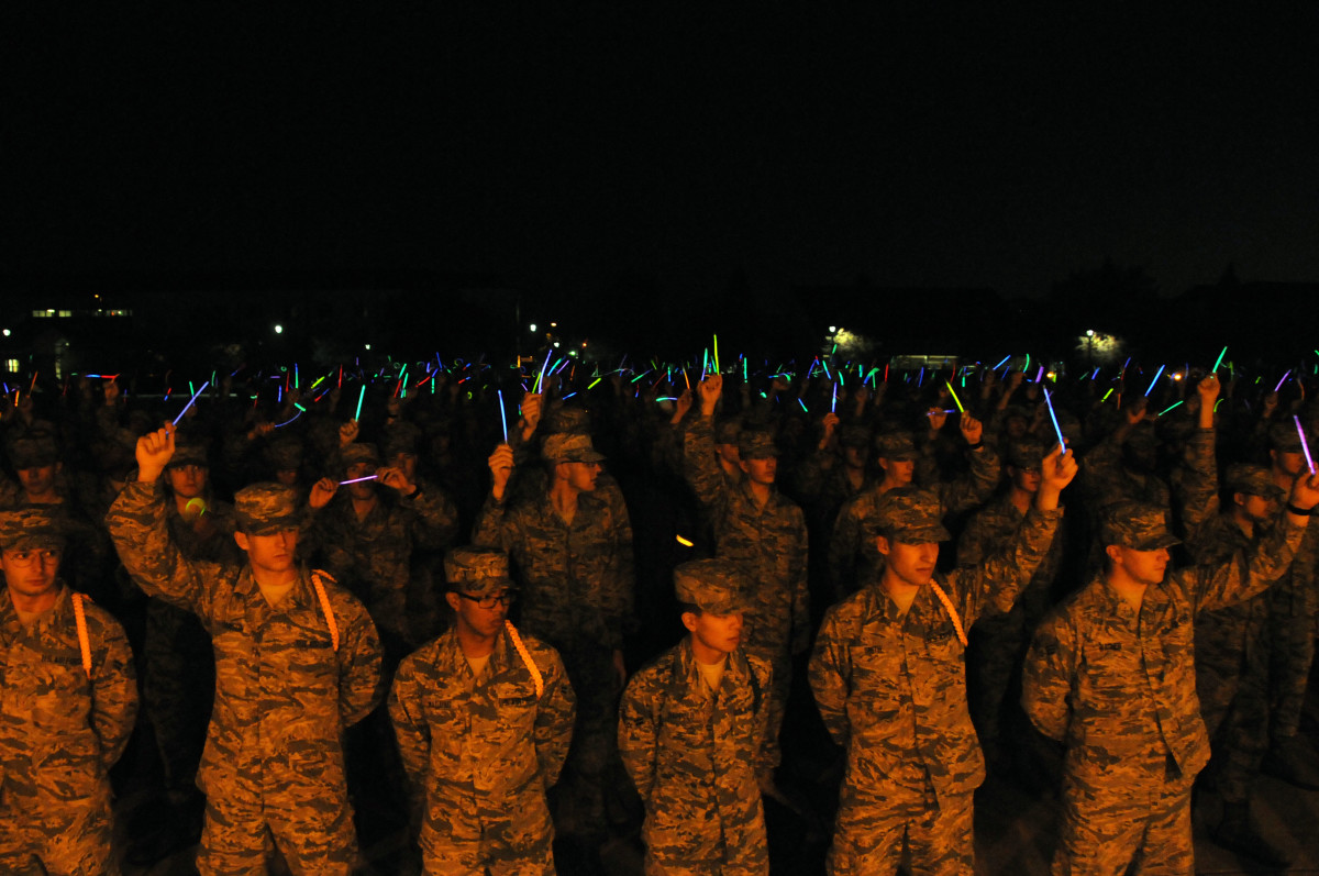 Even the military has been known to use glow sticks
