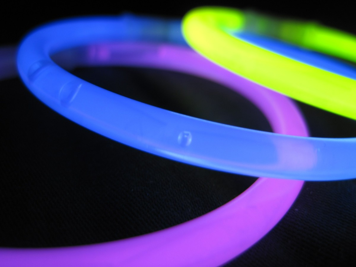Edwin Chandross probably would have made a fortune from inventing glow sticks if he'd only patented his creation!