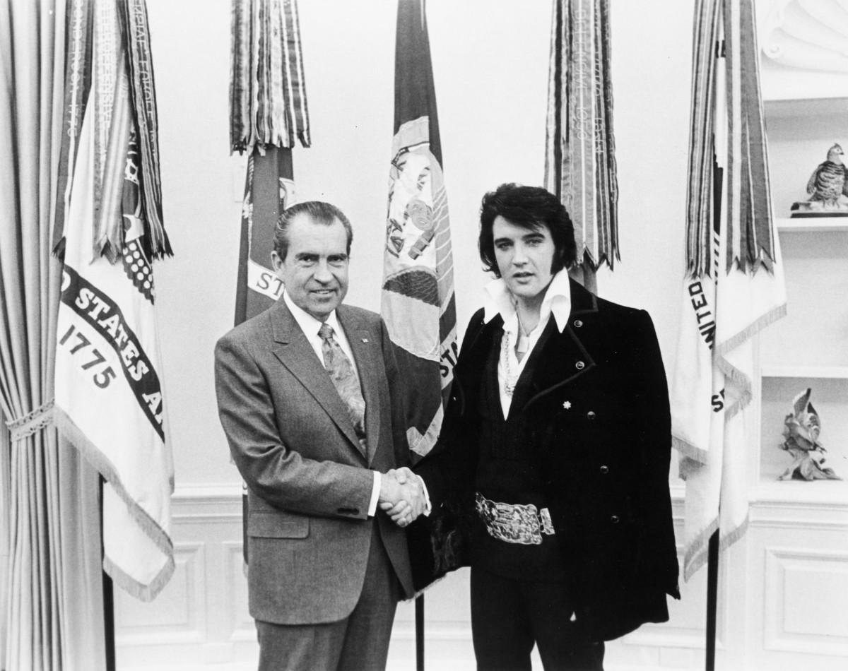 Elvis the grass