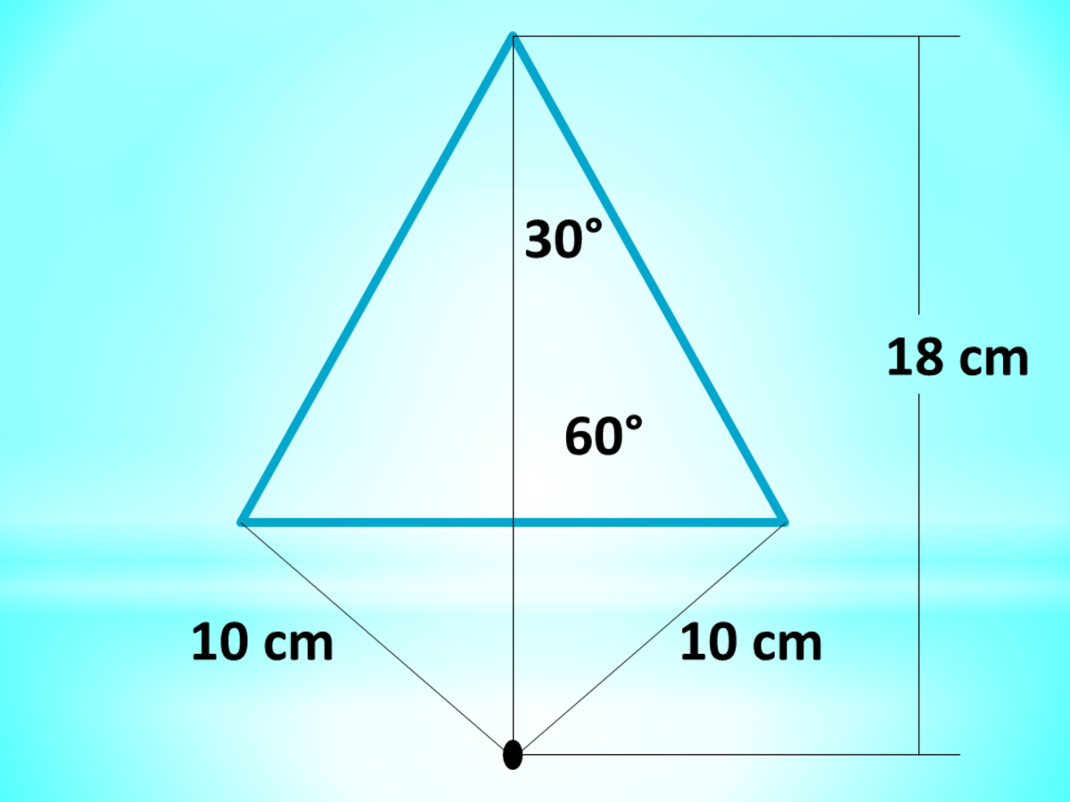 A Point Outside a Triangle: Calculator Techniques for Circles and Triangles in Plane Geometry