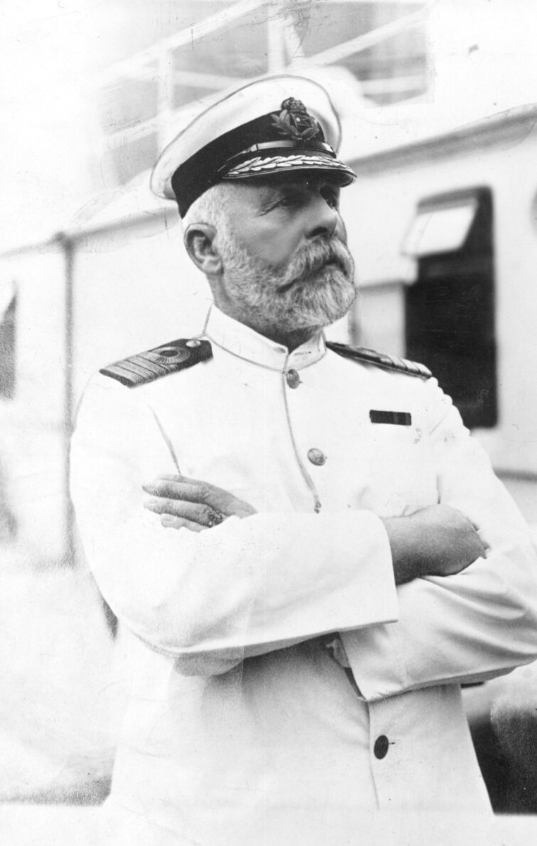 Captain Edward Smith.