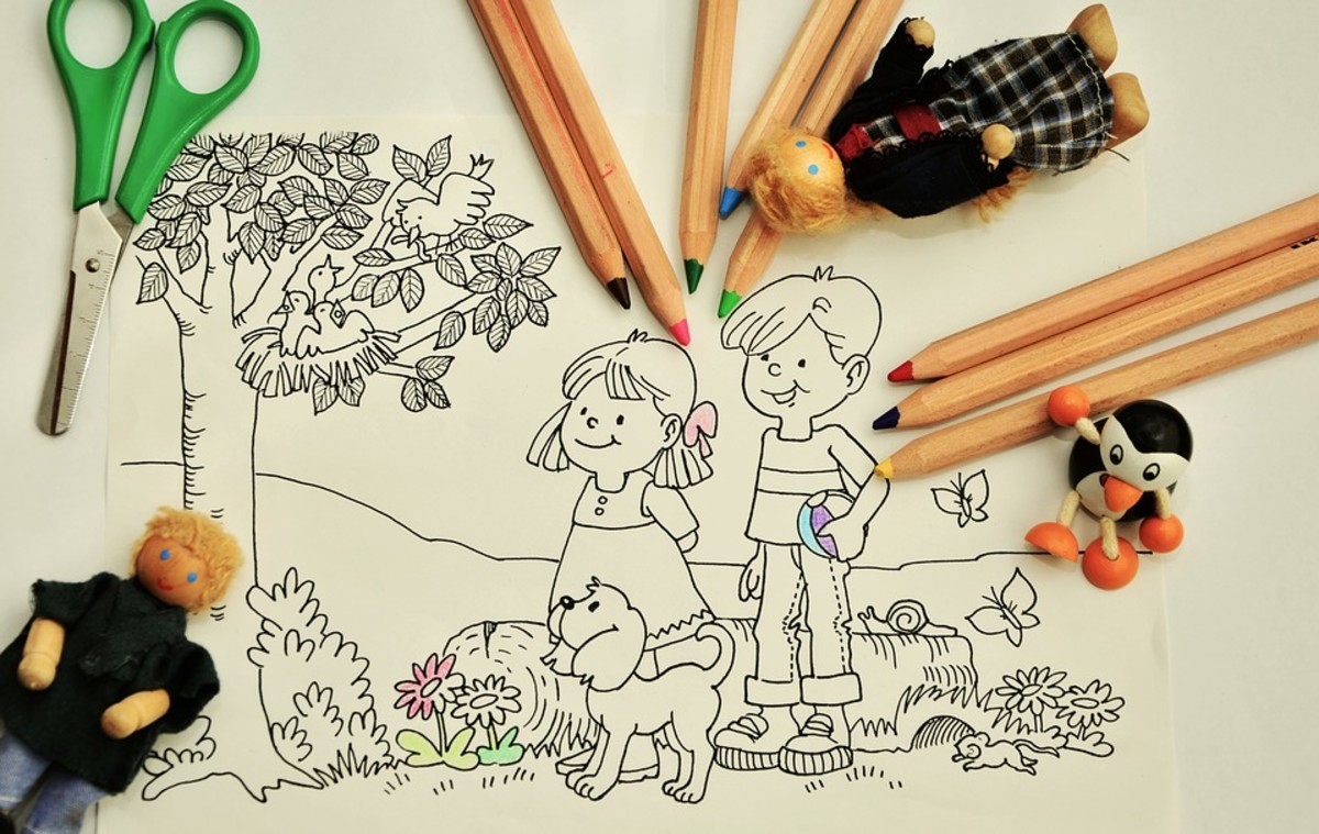 Coloring pages are always a hit with students, and are a great way to fill in extra time.