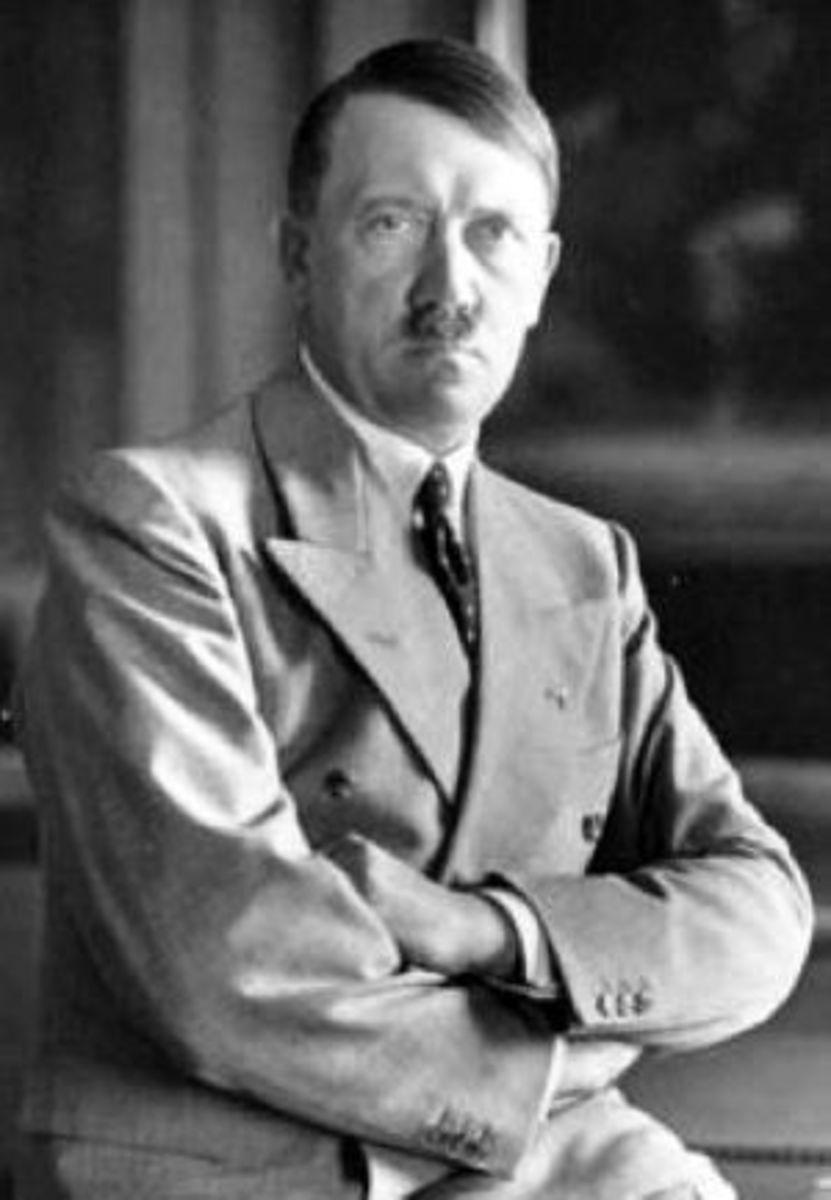 Adolf Hitler in 1934.