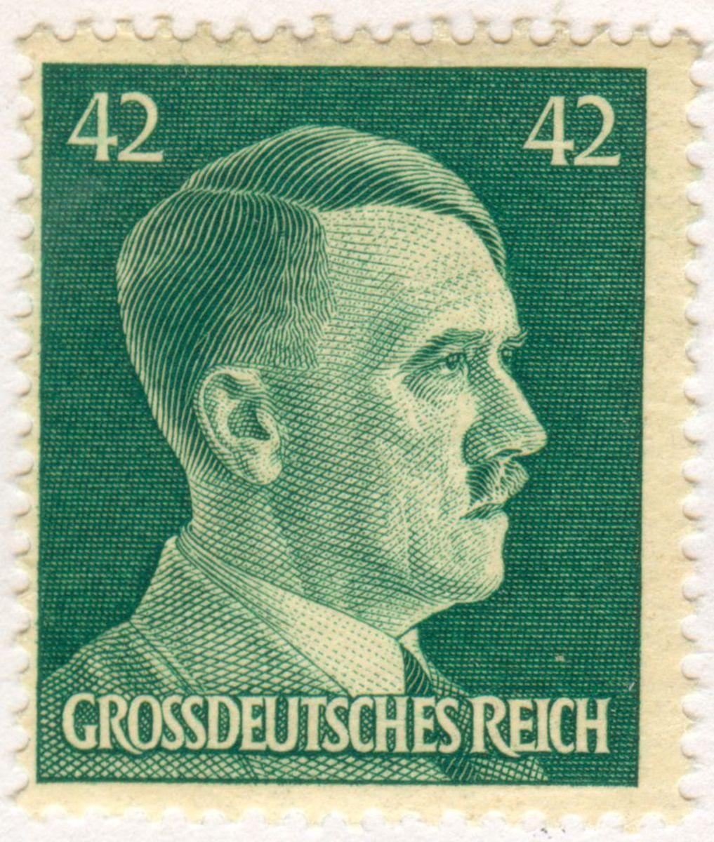 Hitler Stamp.