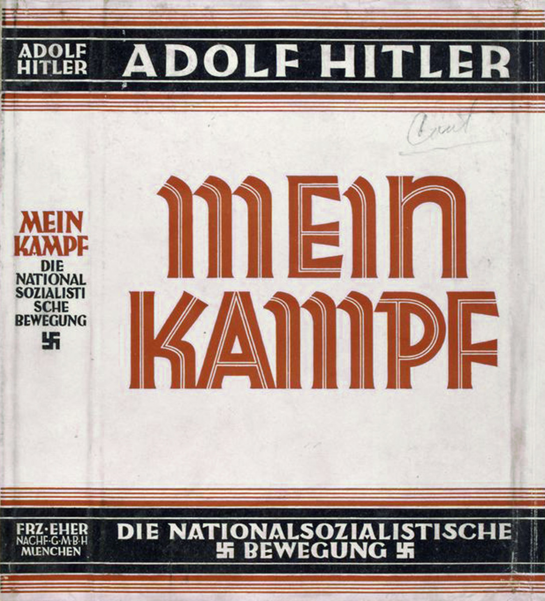 Mein Kampf Cover.