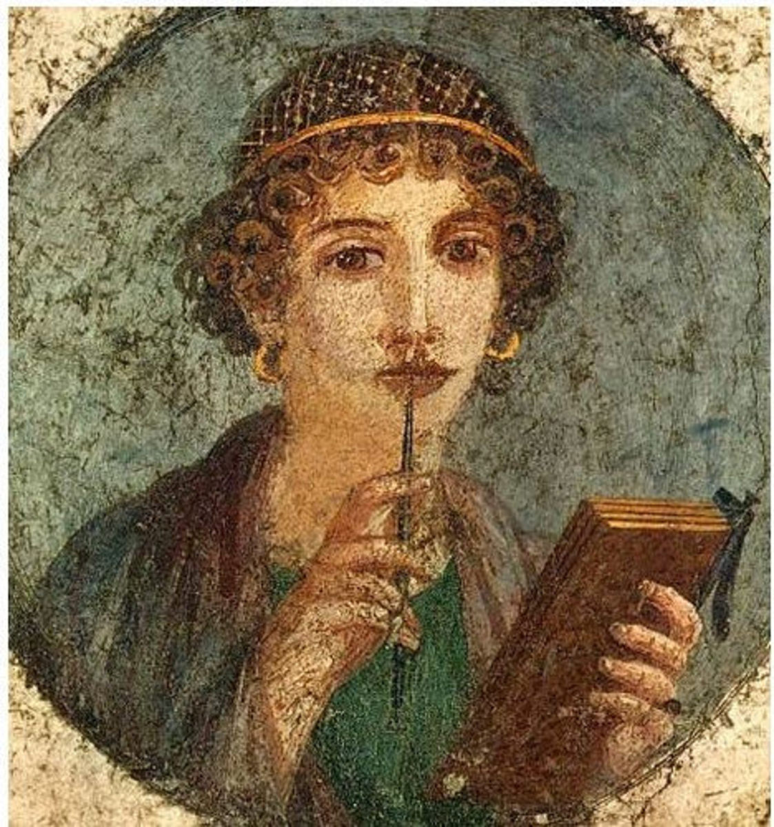 Sappho of Lesbos.