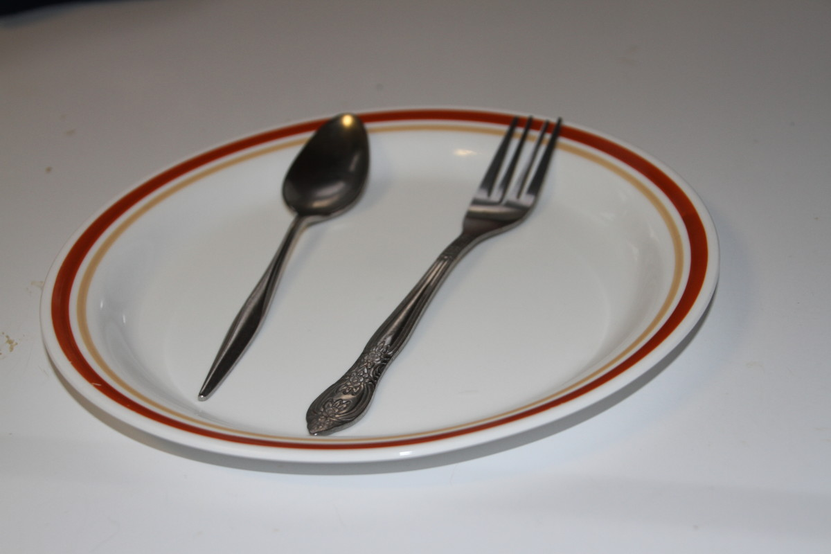 People with vision loss may use the concepts of how a clock is laid out when locating food on a plate.