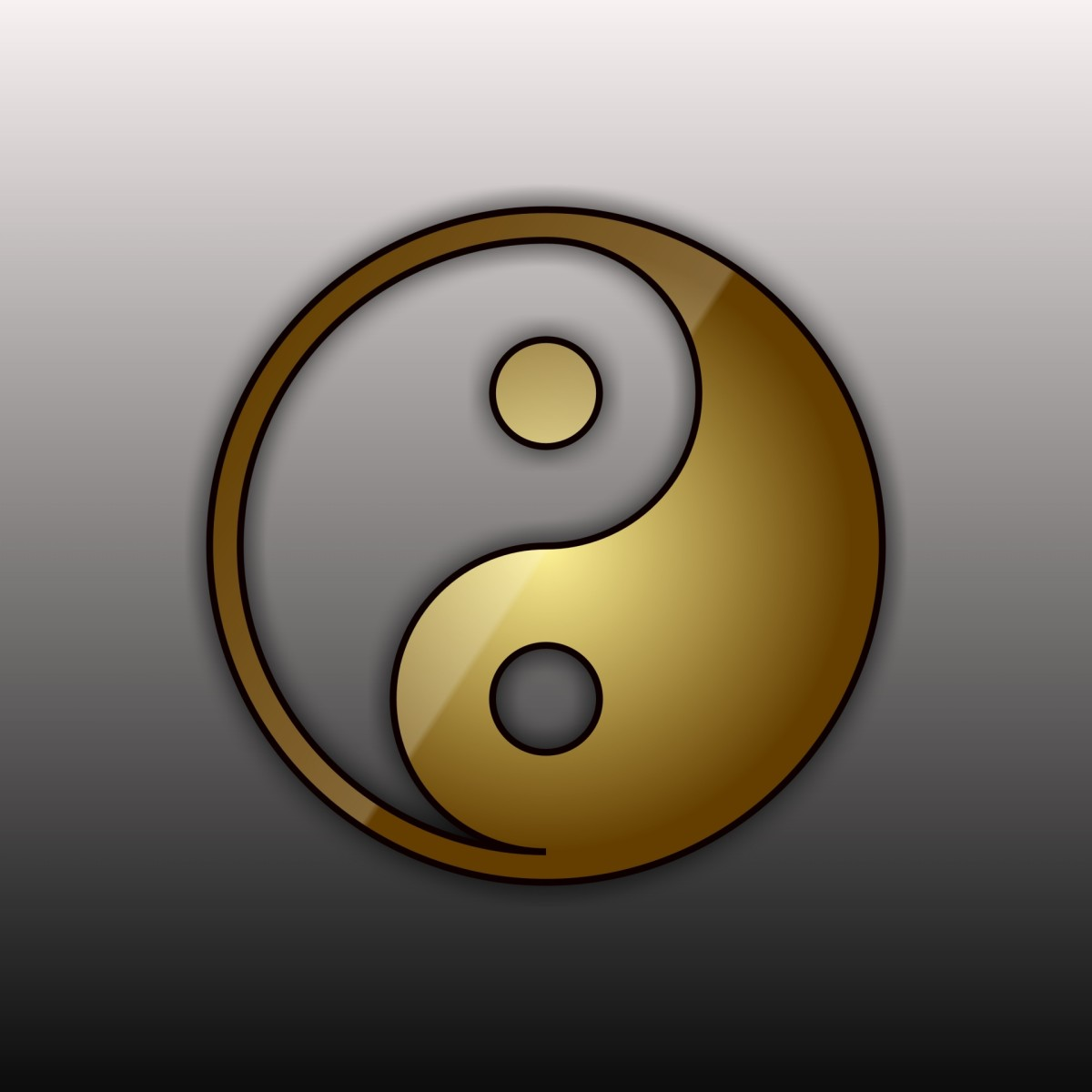 This ancient symbol portrays the peace that comes from resolution of paradox.