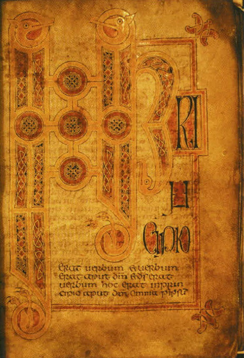 The Hereford Gospels, 8th century (Hereford Cathedral chained library)