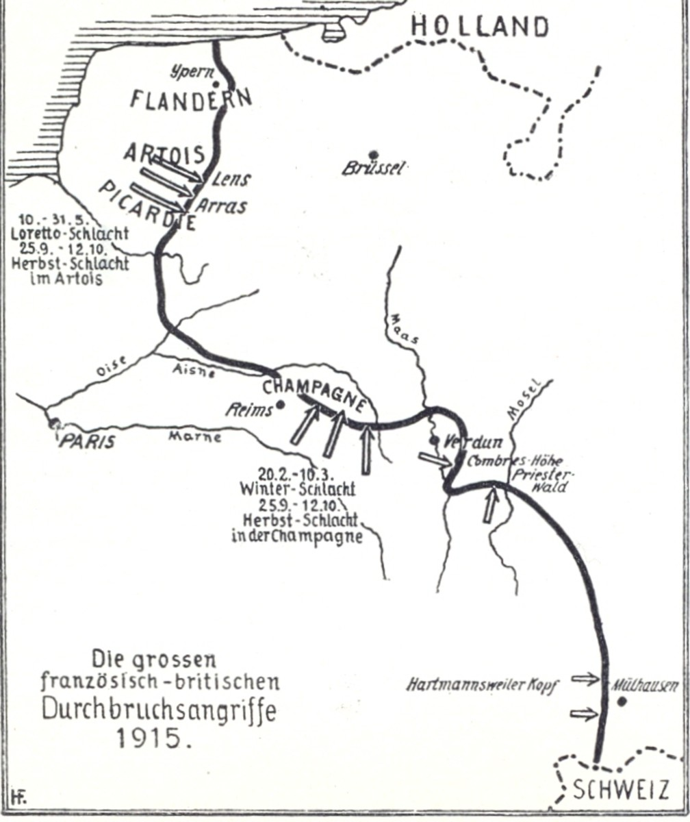 The 1915 offensives.