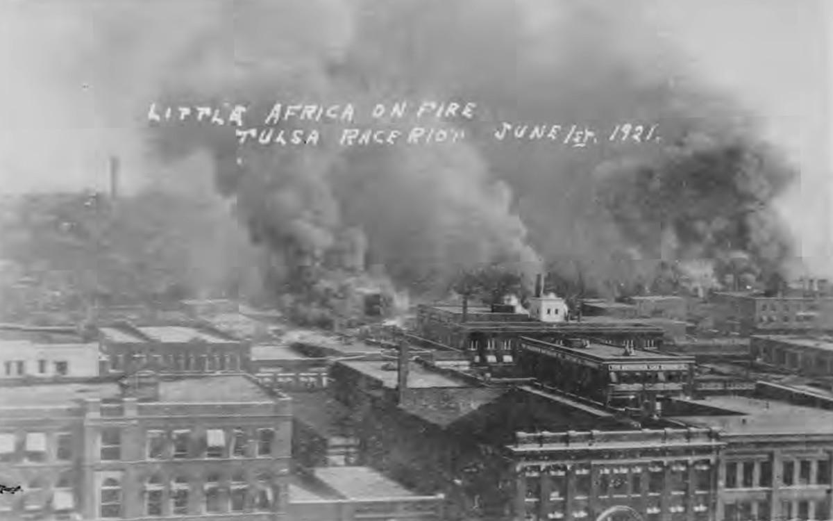 Greenwood burns.