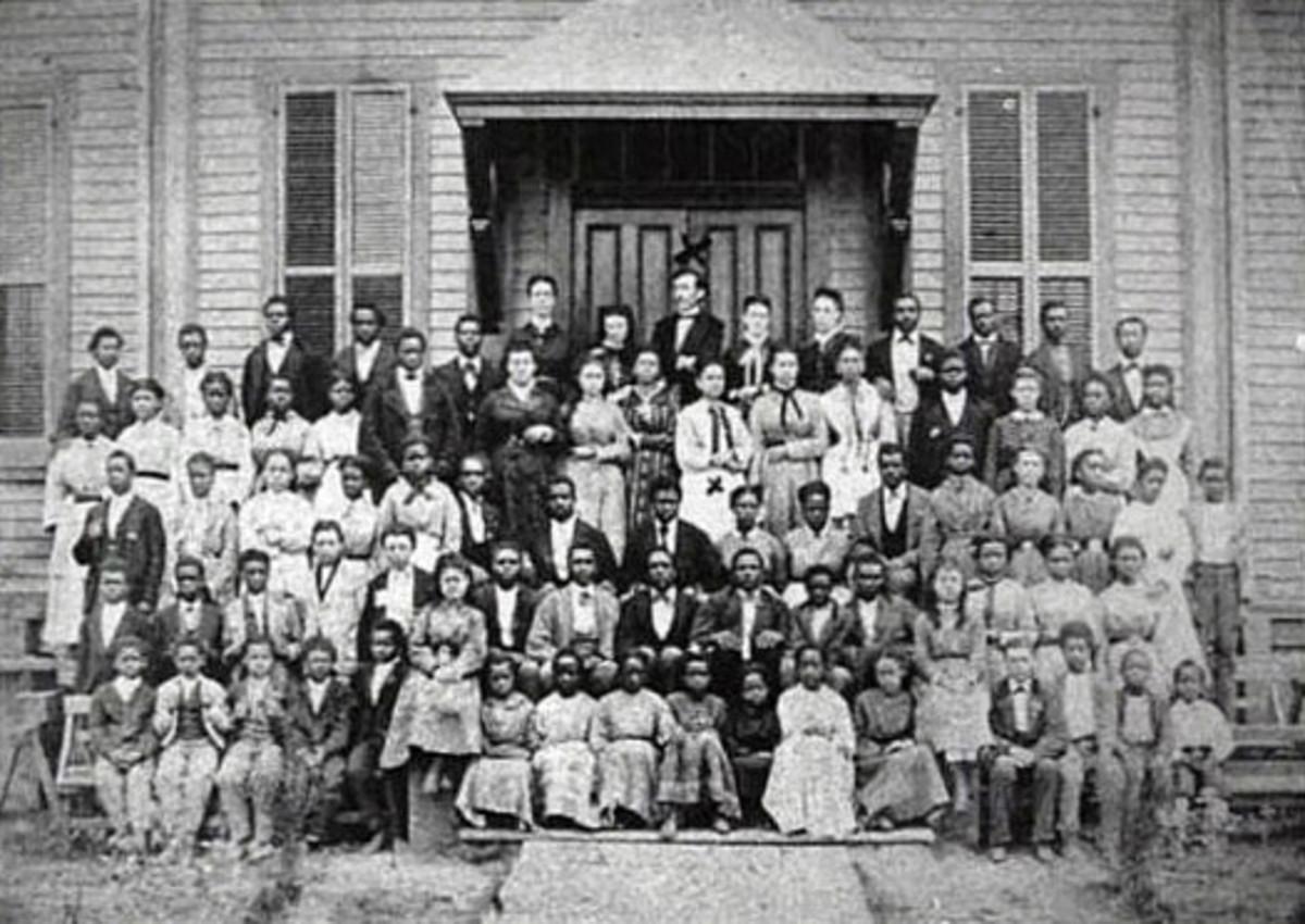 1871 class at Lemoyne College in Memphis.