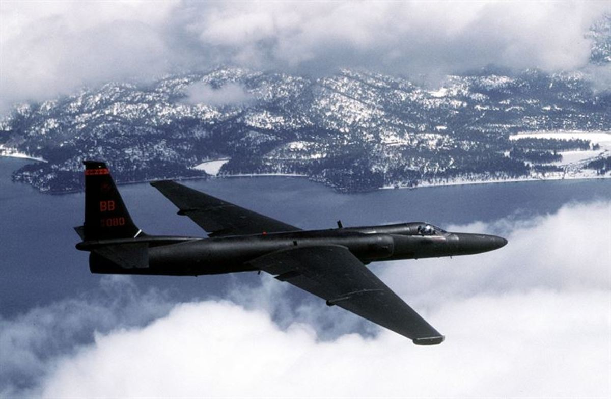 U-2 aircraft similar to the ones that flew airborne photo reconnaissance missions during the Cuban Missile Crisis in 1962