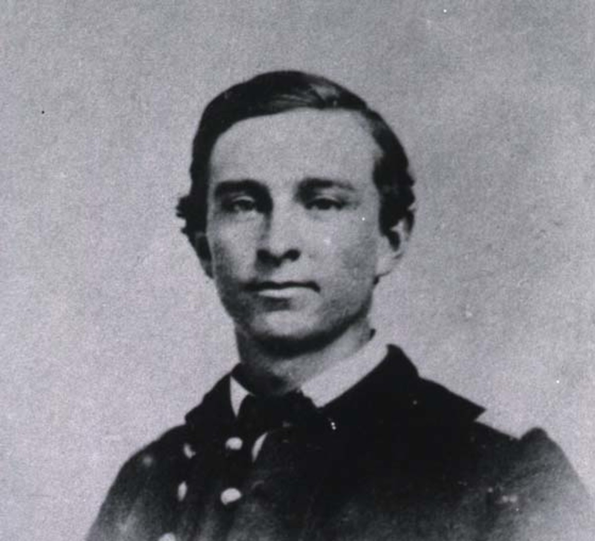 Dutton at 20; during the Civil War he enlisted in the 13th Wisconsin Infantry Regiment.