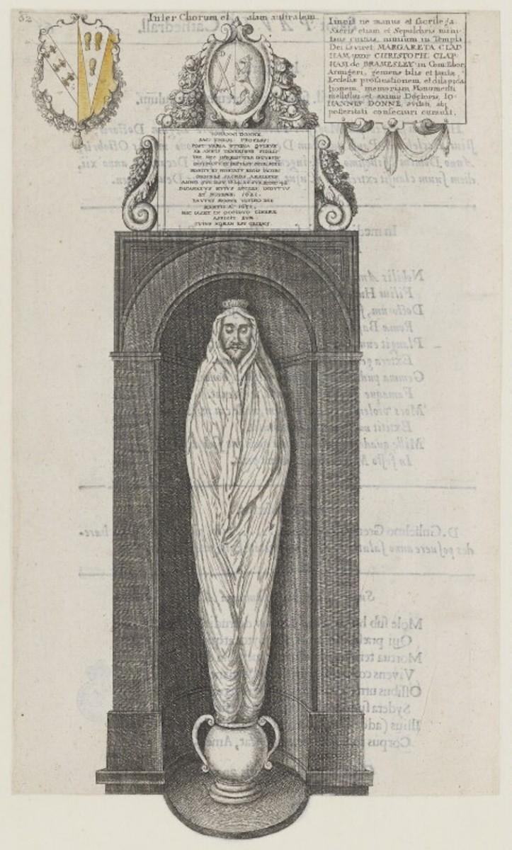 John Donne—Monumental Effigy