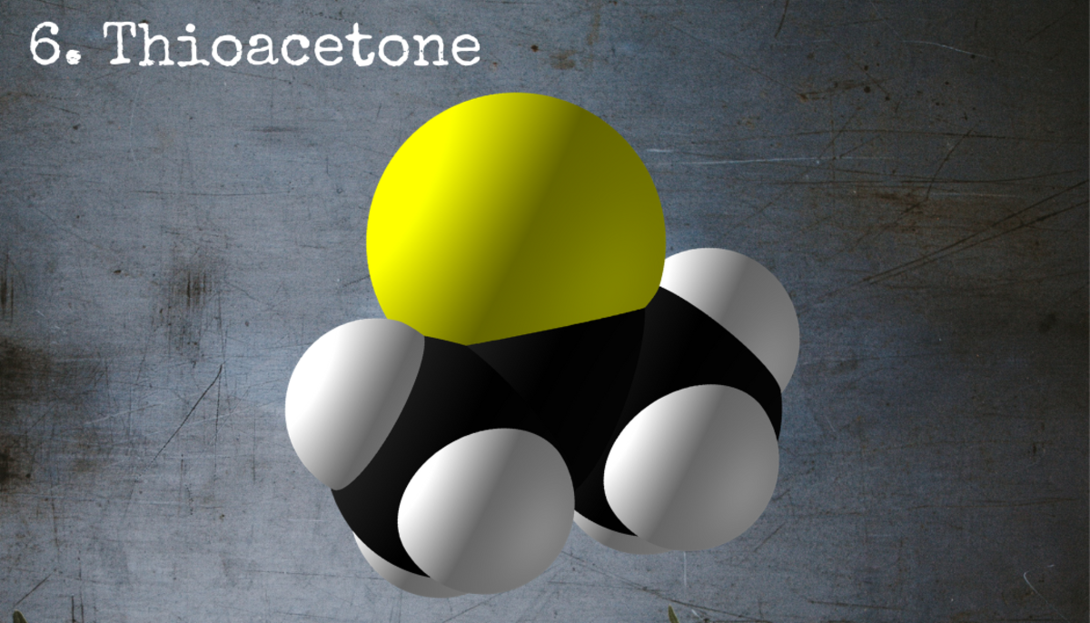 Thioacetone just might be the worst-smelling chemical on earth.