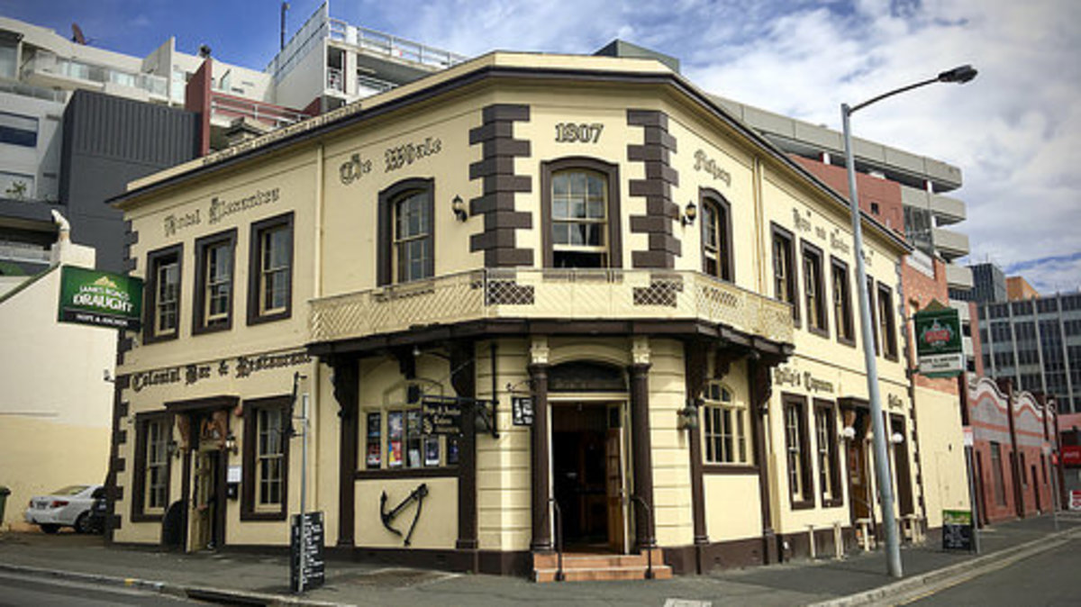 The Hope and Anchor pub in Hobart dates from 1807 and is said to be where Ikey Solomon conducted much of his business.