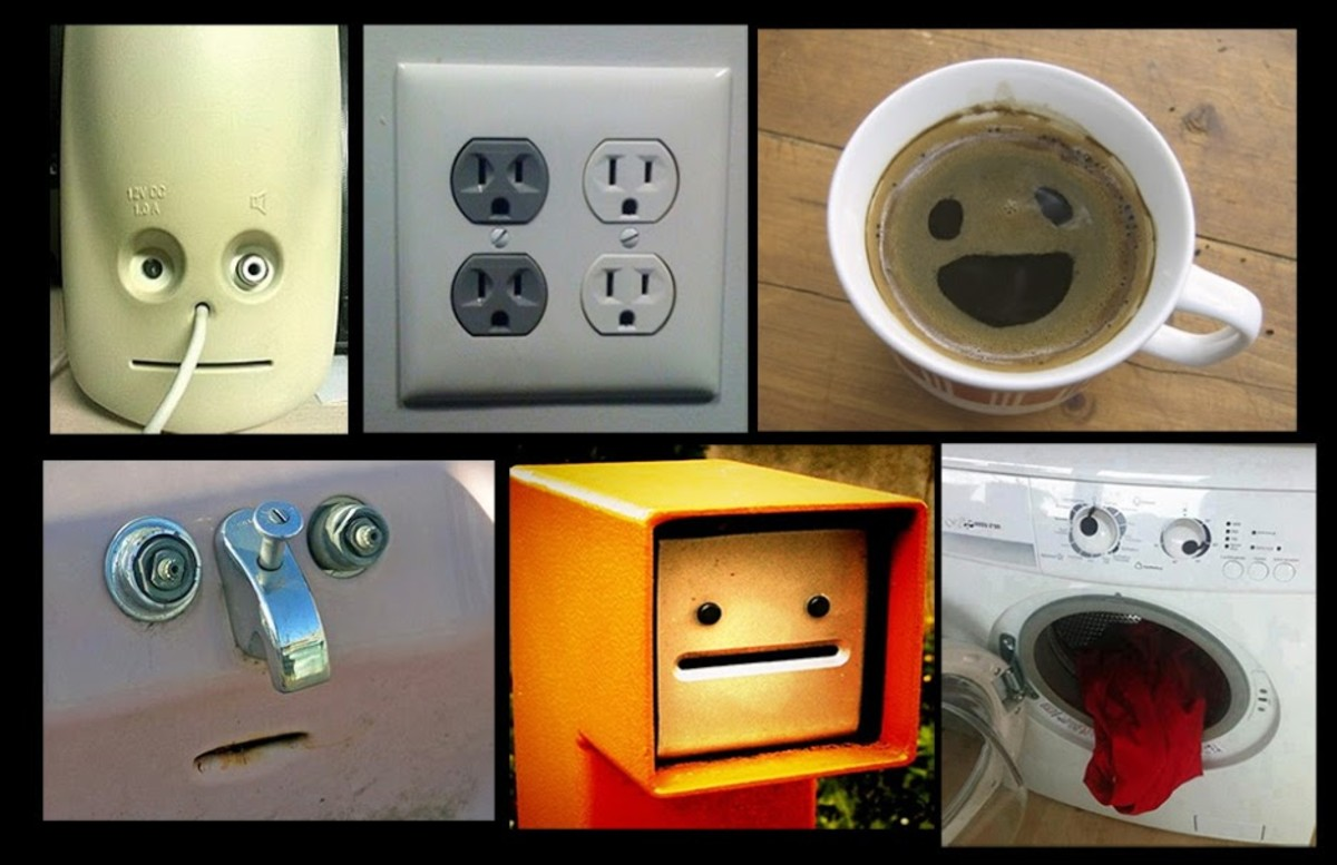 Faces in Inanimate Objects?