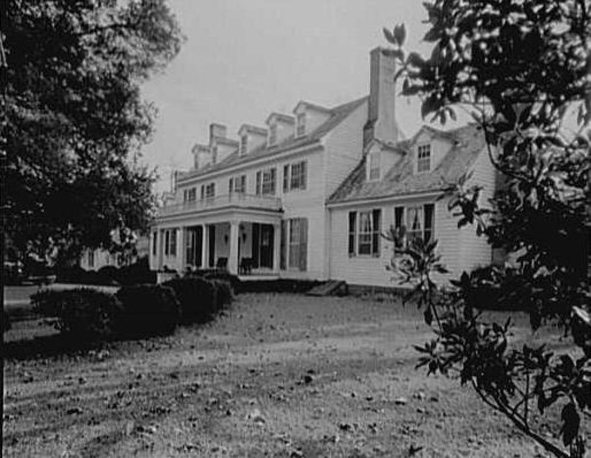 Sherwood Forest Plantation in Charles City County, Virginia, where the Tylers lived after leaving the White House.
