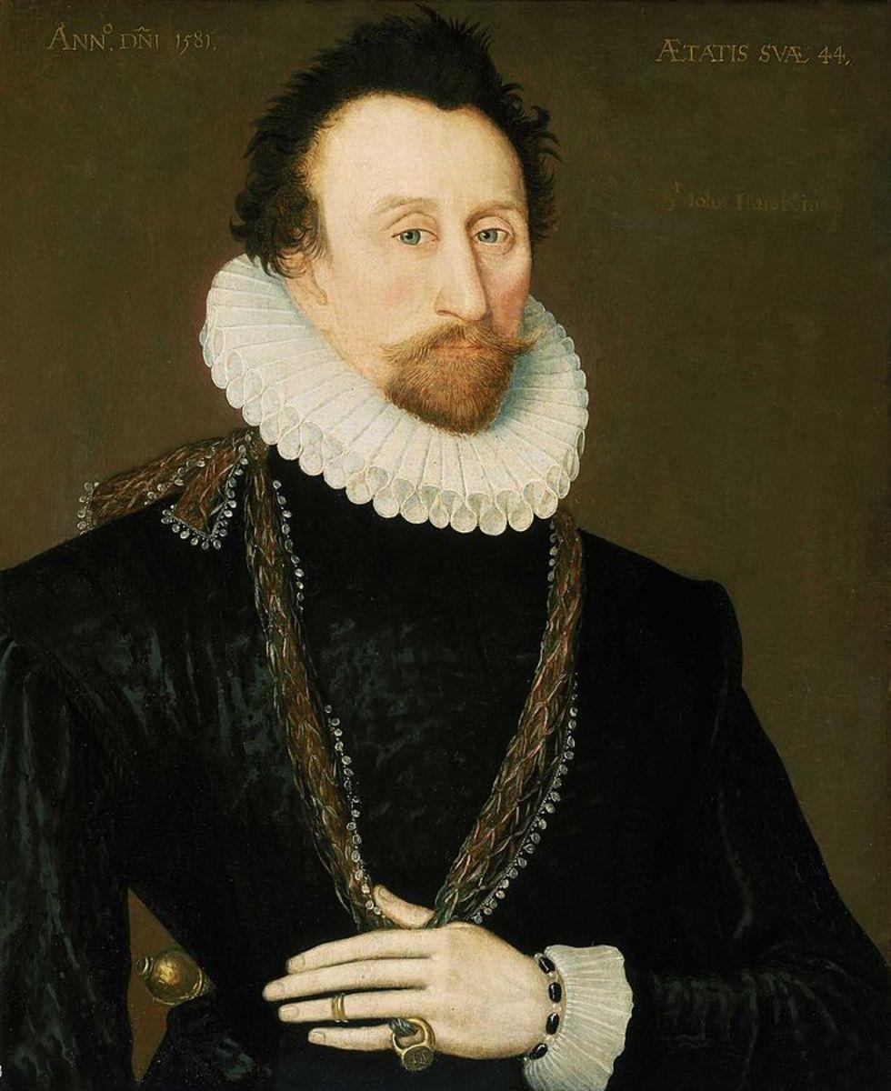 Sir John Hawkins.