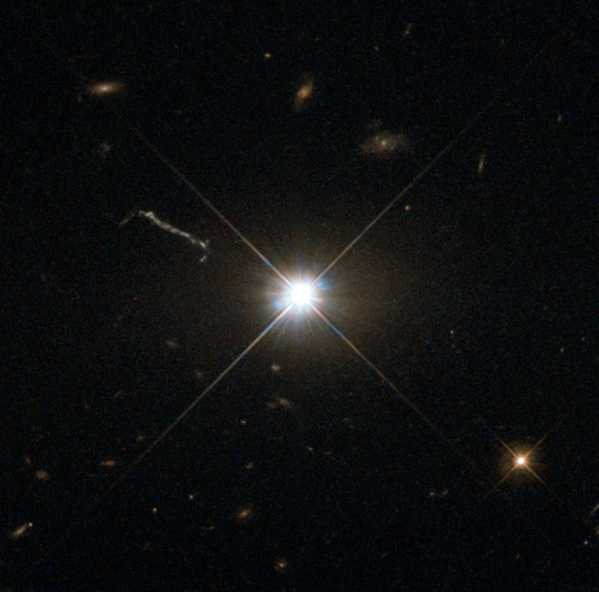 Distant quasar.