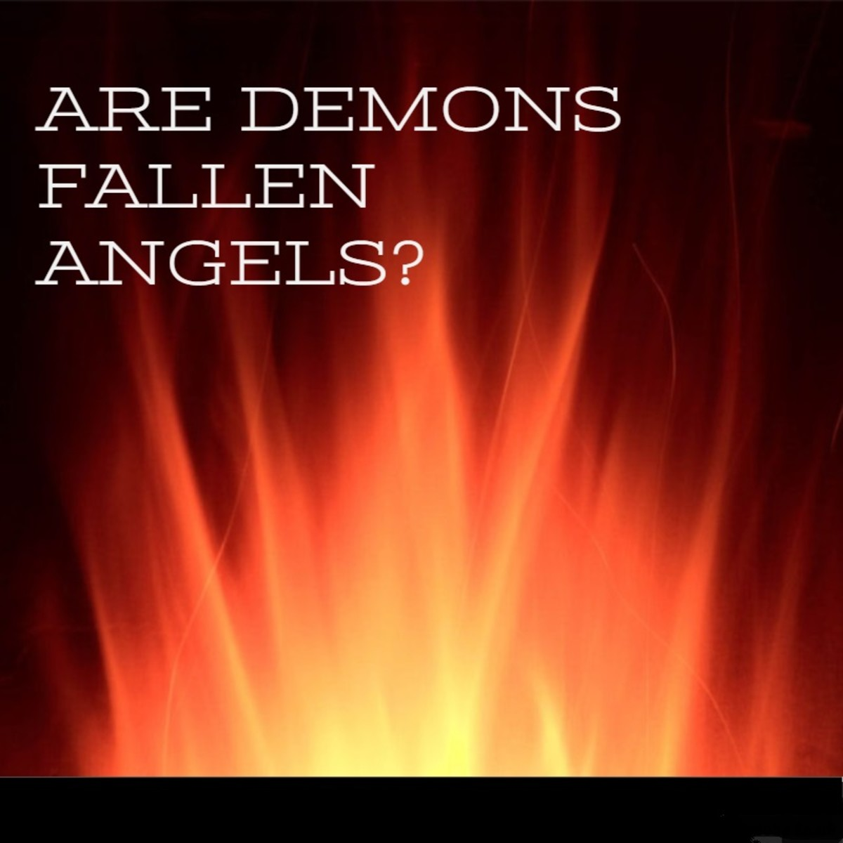 Are Demons Fallen Angels?
