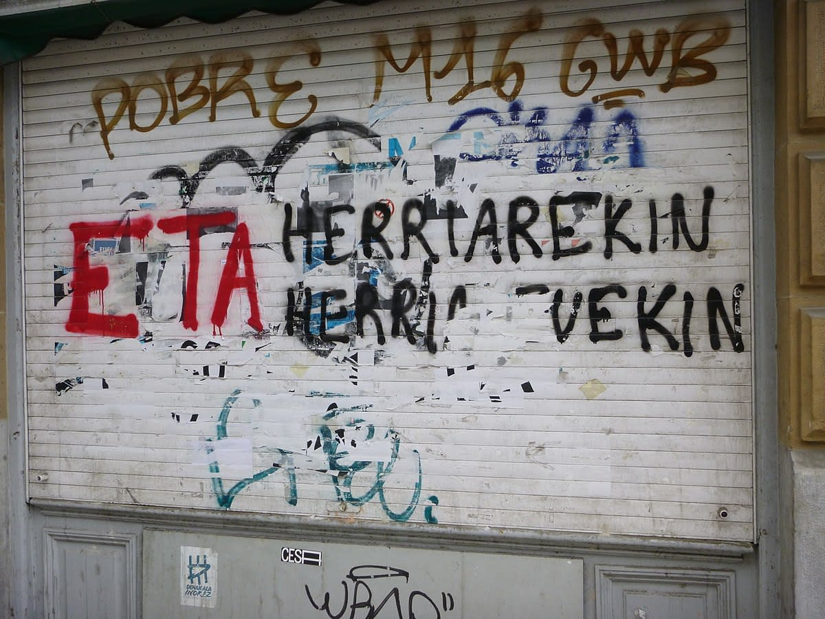 Starting in 1959, the group Euskadi Ta Askatasuna (Eta) carried on a sometimes violent campaign for Basque independence. Eta abandonned its fight in 2017.